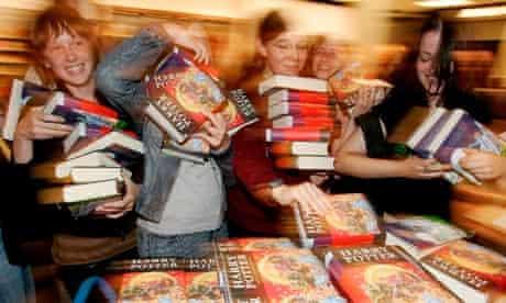 Harry Potter book launch in Frankfurt