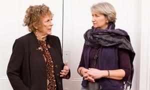 Ann Leslie and Lindsey Hilsum
