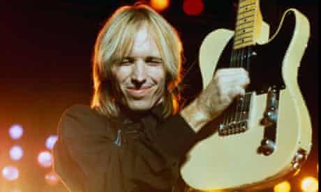 Tom Petty Playing Guitar