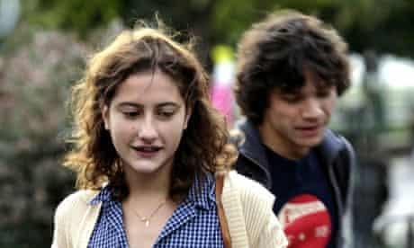 Lola Créton and Sebastian Urzendowsky in Goodbye First Love