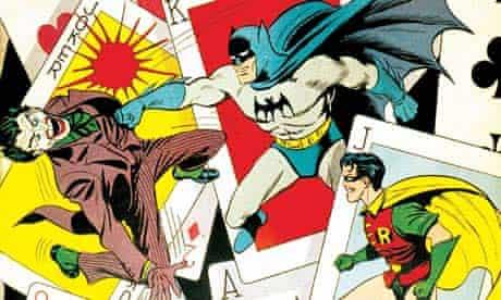 Batman comic cover