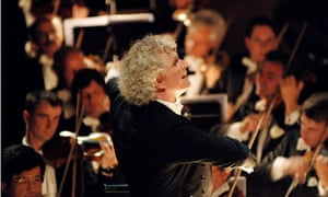 Simon Rattle and the Berliner Philharmoniker