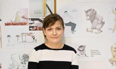 Netia Jones with pictures from Maurice Sendak's Where the Wild Things Are