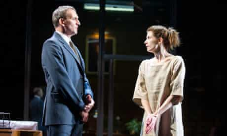 Jodie Whittaker and Christopher Eccleston in Antigone