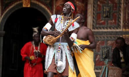 Cymbeline performed in Juba Arabic by The South Sudan Theatre Company at Shakespeare's Globe