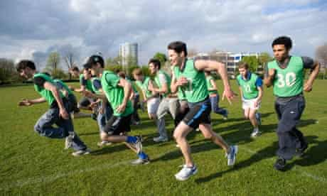 The Chariots of Fire cast get military training