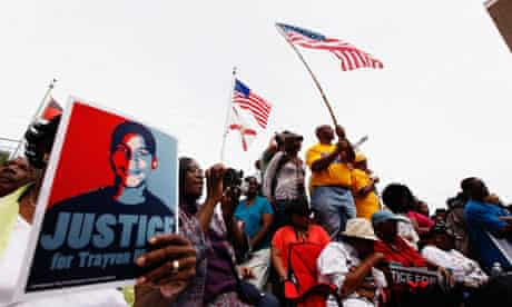 March and rally in Florida for Trayvon Martin