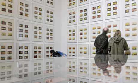 Korbinian Aigner's apples at Documenta 13