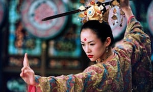 Zhang Ziyi in House of the Flying Daggers