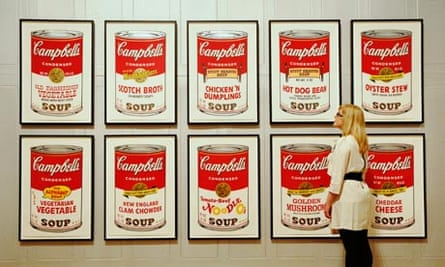 Soup queue … Andy Warhol's Campbell's Soup II (1969) at the Dulwich Picture Gallery.