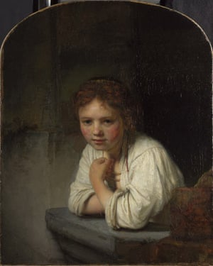 Rembrandt's Girl at a Window: Art Weekly