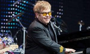 Elton John At Yorkshire Event Centre In Harrogate