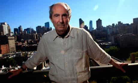 Author Philip Roth in New York