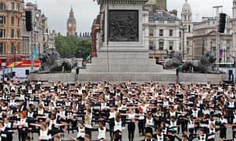 Big Dance Trafalgar Square