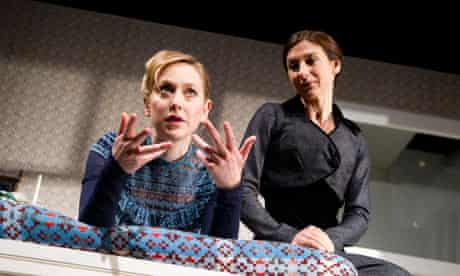 Hattie Morahan and Susannah Wise in Henrik Ibsen's A Doll's House, at the Young Vic.
