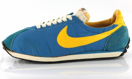 Nike Waffle trainers at the Wellcome Collection