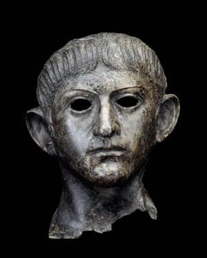 Head of Claudius, from the British Museum