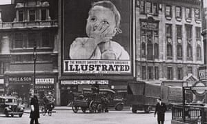 Near Monument Station, London, in 1938 from Tate Britain's Another London exhibition