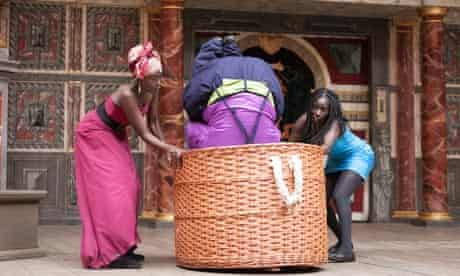 The Merry Wives of Windsor performed in Swahili at Shakespeare's Globe