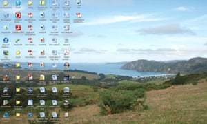 David Vann's desktop