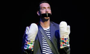 The Boy With Tape On His Face, at the Pleasance Courtyard, Edinburgh