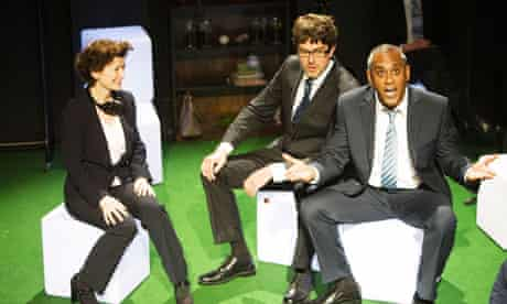 Angela Clerkin, Philip Bosworth and Gordon Warnecke in Monkey Bars