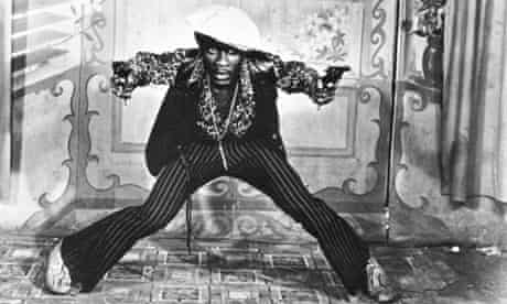 Jimmy Cliff as Jamaican gangster Ivanhoe Martin in The Harder They Come