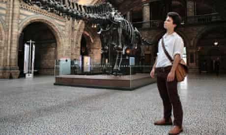 Patrick Kingsley at the Natural History Museum