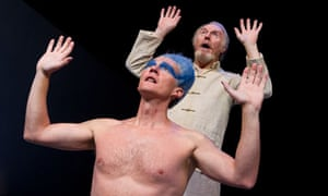 Mark Meadows as Ariel and Tim Pigott-Smith as Prospero
