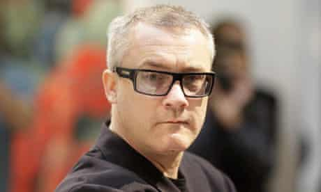 Damien Hirst, whose sping paintings were allegedly inspired by Blue Peter's John Noakes.