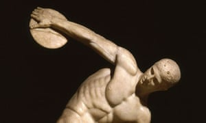 Replica of Myron's Discus Thrower
