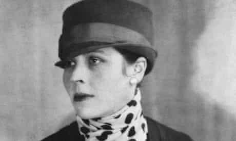 American novelist Djuna Barnes