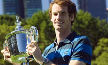 Andy Murray US Open Cup winner