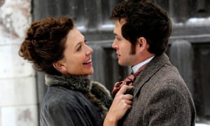 Maggie Gyllenhaal and Hugh Dancy