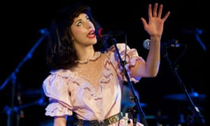 Kimbra Performs At Union Chapel In London