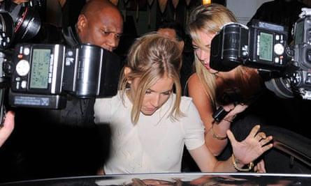 Sienna Miller paparazzi