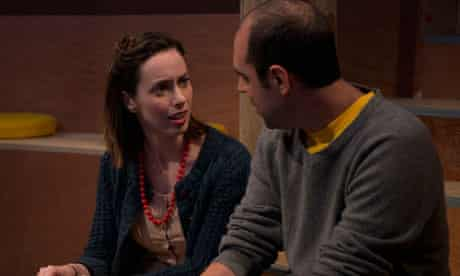 Kate O'Flynn and Alistair Cope in Lungs, part of the Roundabout season