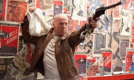 Looper Review Thrillers Film The Guardian