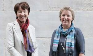 Dawn Airey and Caroline Thomson