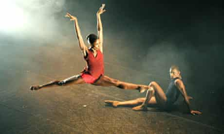 Cira Robinson and Jazmon Voss perform for Ballet Black
