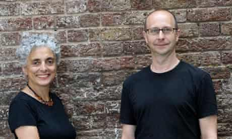 Dance Umbrella's artisitc director Betsy Gregory and guest curator Jonathan Burrows