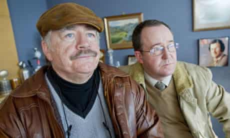 Brian Cox and Jonathan Watson in Bob Servant Independent