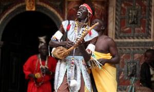 Cymbeline performed in Juba Arabic at Shakespeare's Globe