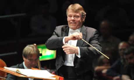 Mariss Jansons and the Royal Concertgebouw Orchestra at the Proms in 2009