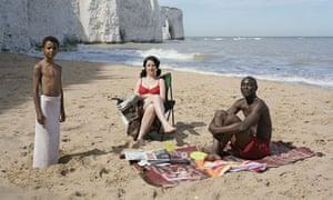 Trish Morrissey's beach shot