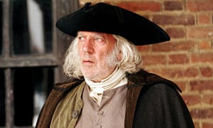 Donald Sutherland as Mr Bennet in the 2005 film Pride and Prejudice