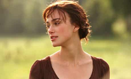 Keira Knightley as Lizzie Bennet in the 2005 film Pride and Prejudice