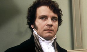 Colin Firth as Mr Darcy in the 1995 BBC adaptation of PRIDE AND PREJUDICE