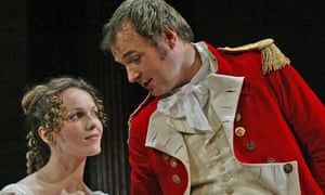 John Leslie as Mr Wickham in Pride and Prejudice at the Yvonne Arnaud theatre in 2005