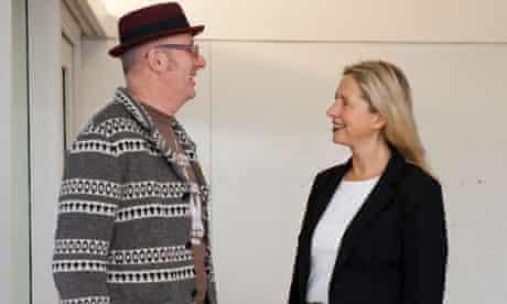 Bob & Roberta Smith and Iwona Blazwick - conversation
